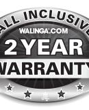 ALL INCLUSIVE TWO YEAR WARRANTY