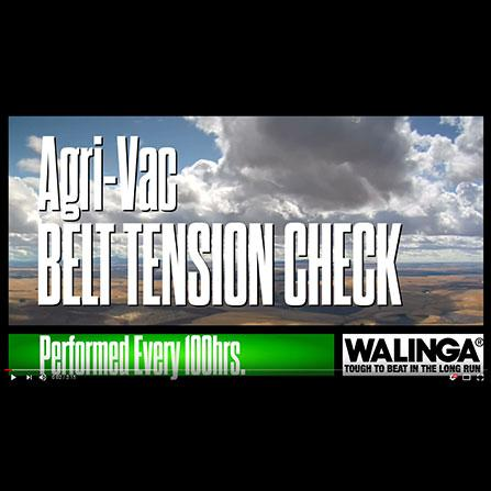 Belt Tension Video