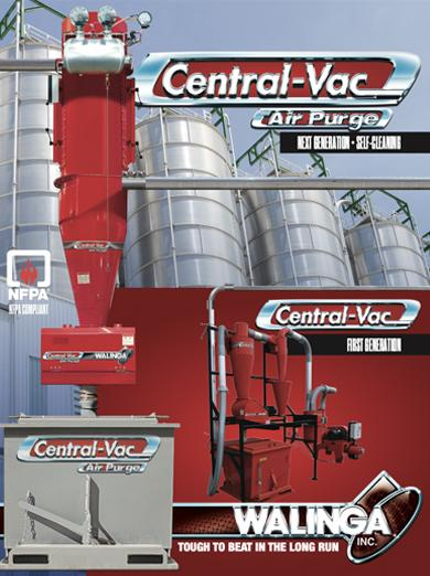 Central-Vac with Air Purge Technology